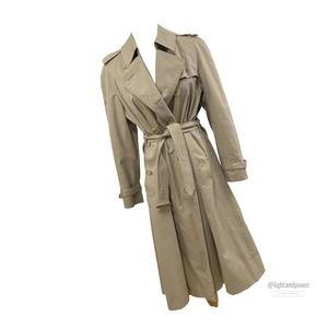 Burberry Prosum Classic Trench Coat& Wool Liner